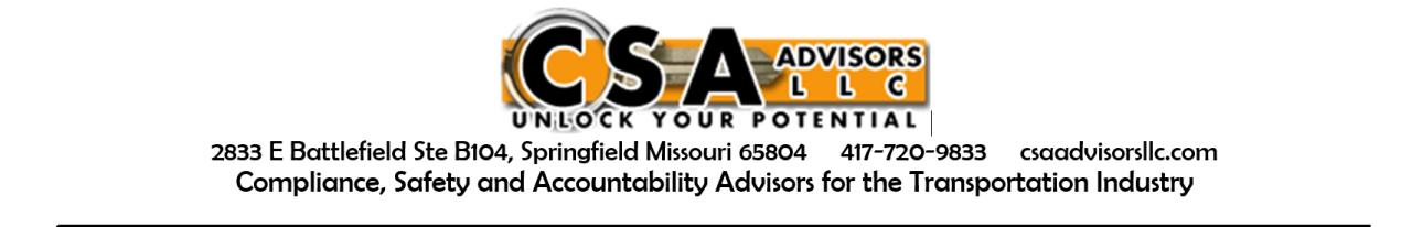 CSA Advisors, LLC.